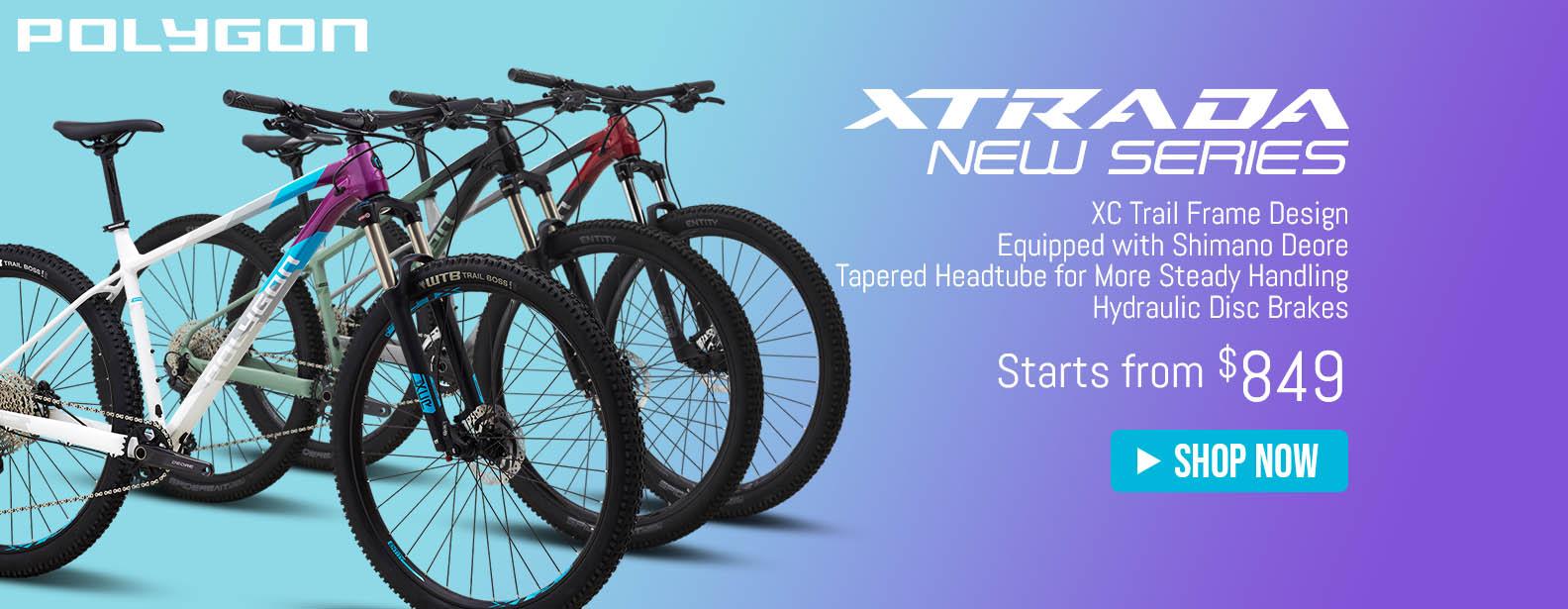 Polygon Xtrada Series Mountain Bike