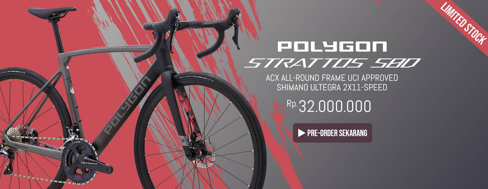 Polygon Sepeda Road Strattos S8 Disc