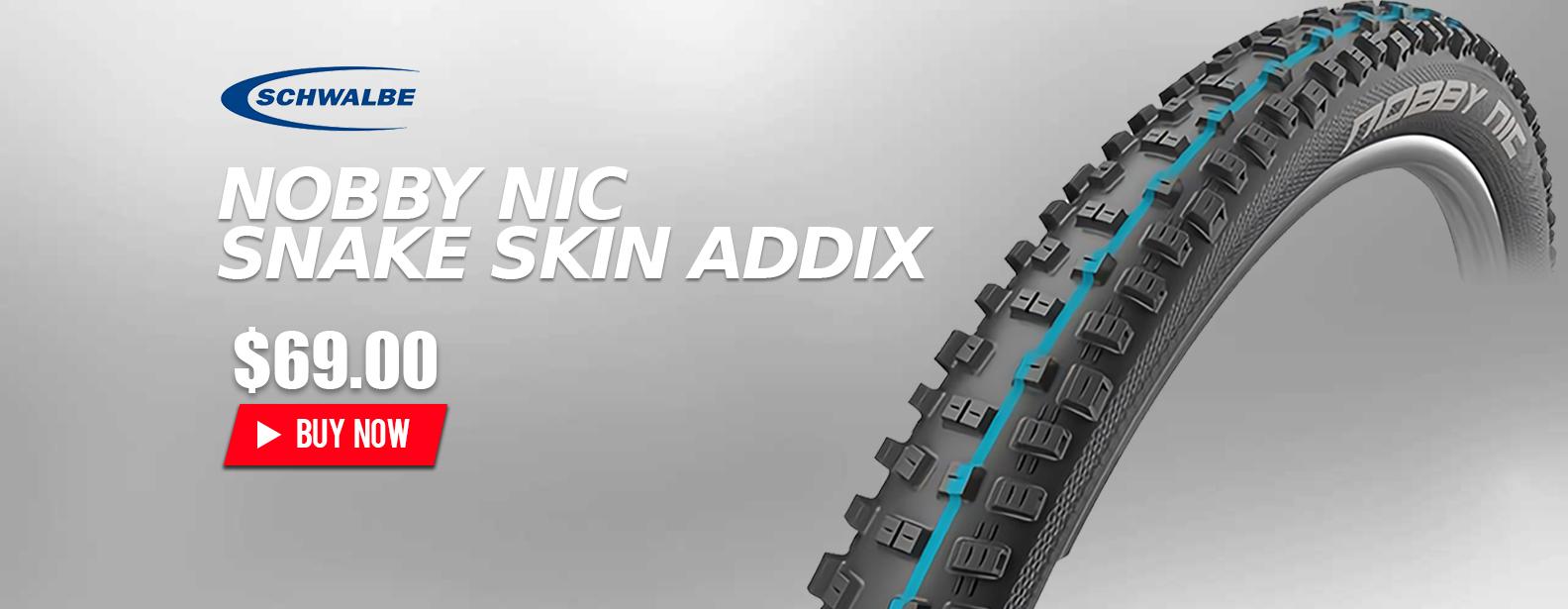 Schwalbe Nobby Nic 27.5x2.6 SnakeSkin Addix Speedgrip Tire