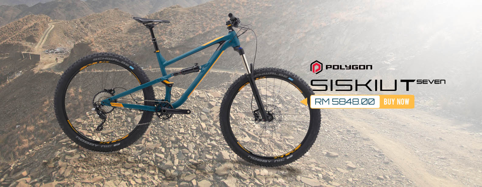 Polygon Siskiu T7 Dual Suspension Bike