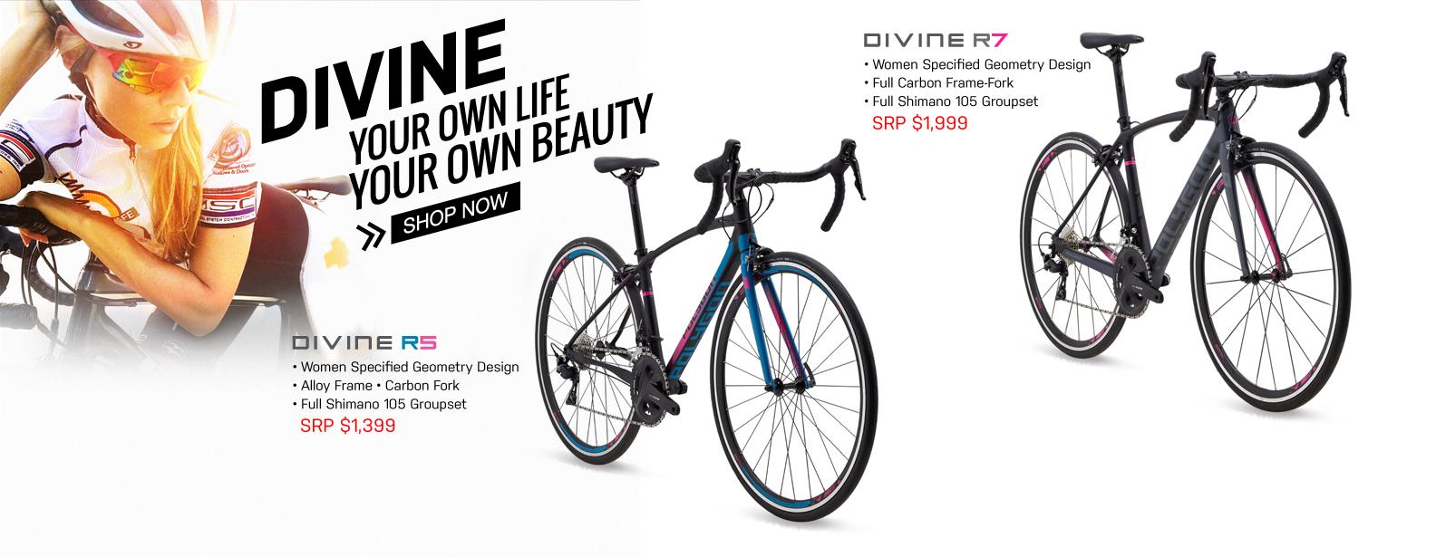 Polygon Divine Road Bike Series