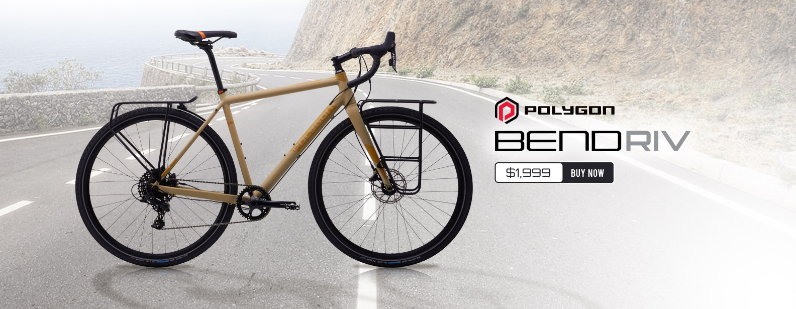 Polygon Bend RIV Touring Disc Road Bike