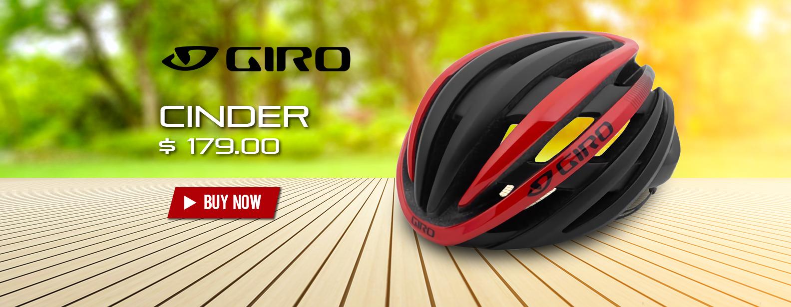 Giro Cinder Bike Helmet