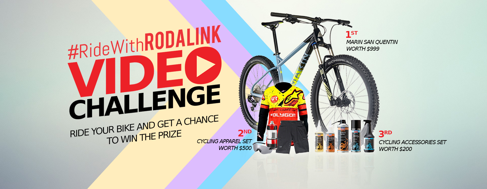 RIDE WITH RODALINK VIDEO CHALLENGE