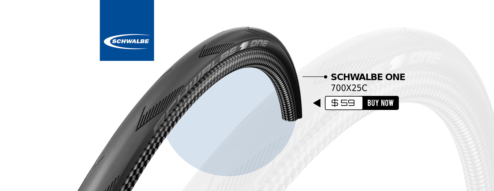Schwalbe One 700x25C Tire