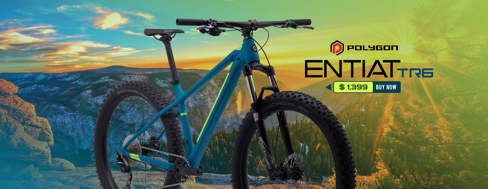 Polygon Entiat TR6 Trail Bike