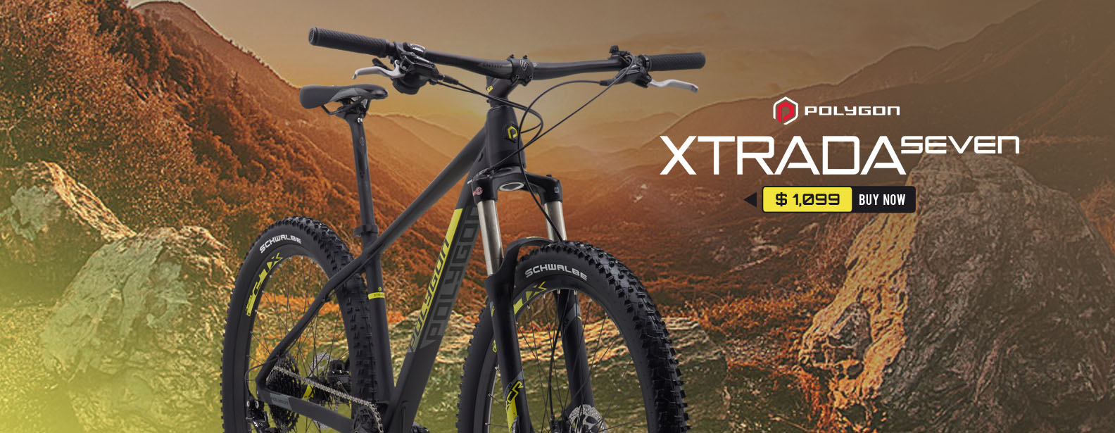Polygon Xtrada 7 Mountain Bike
