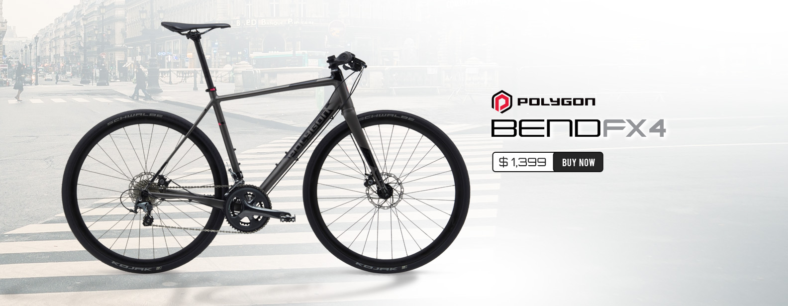 Polygon Bend FX4 Urban Sport Road Bike