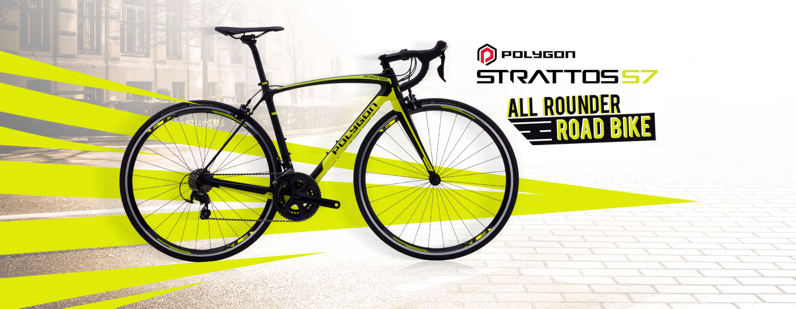 Polygon Strattos S7 Road Bike