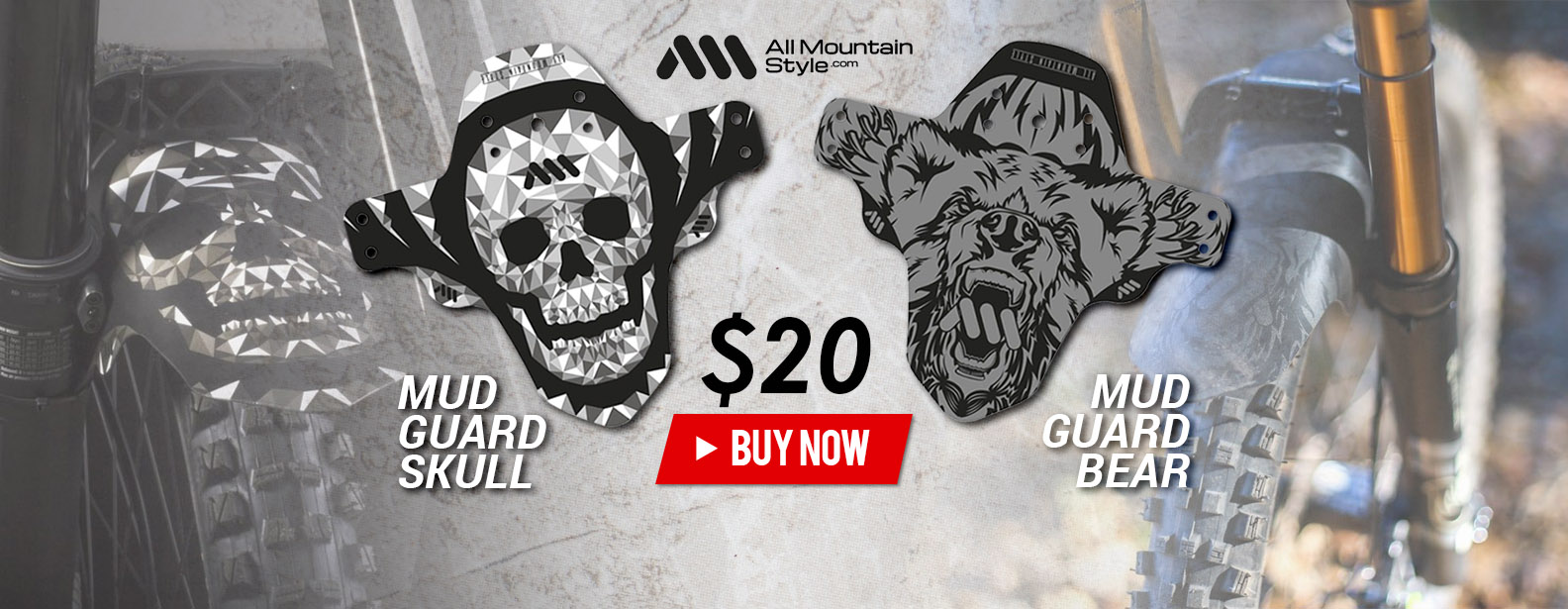 All Mountain Style Protector Bear + All Mountain Style Protector Skull