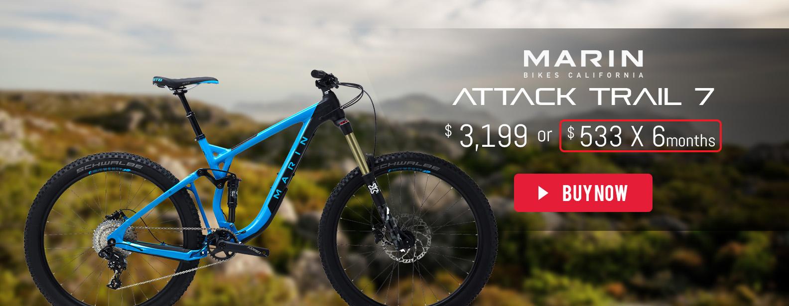 Marin Attack Trail 7 Bike