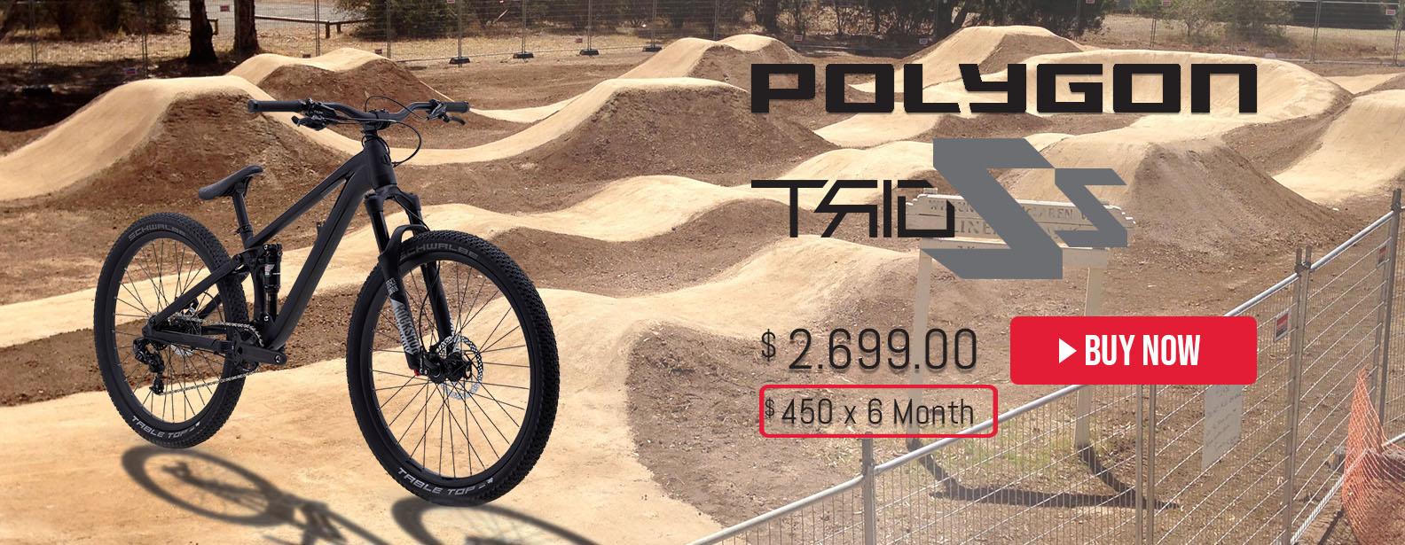 Polygon Trid ZZ Dirt Jump Bike