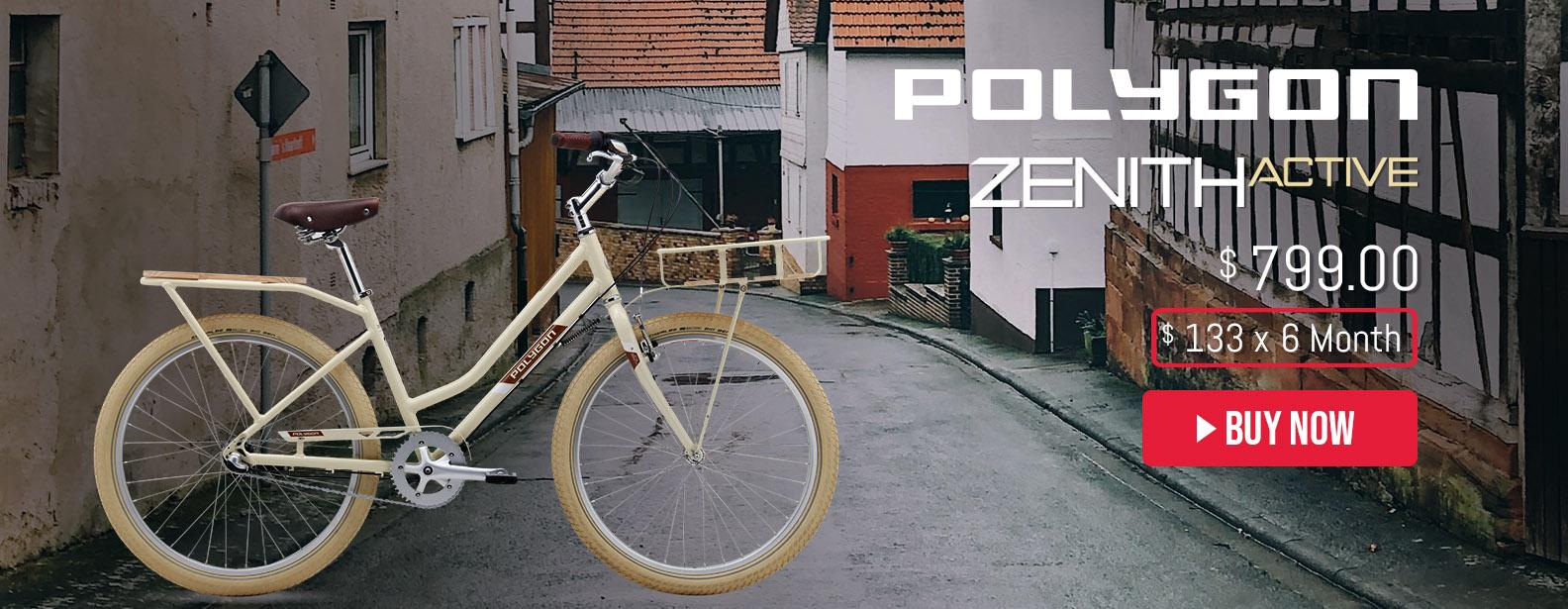 Polygon Zenith Active 3 City Bike