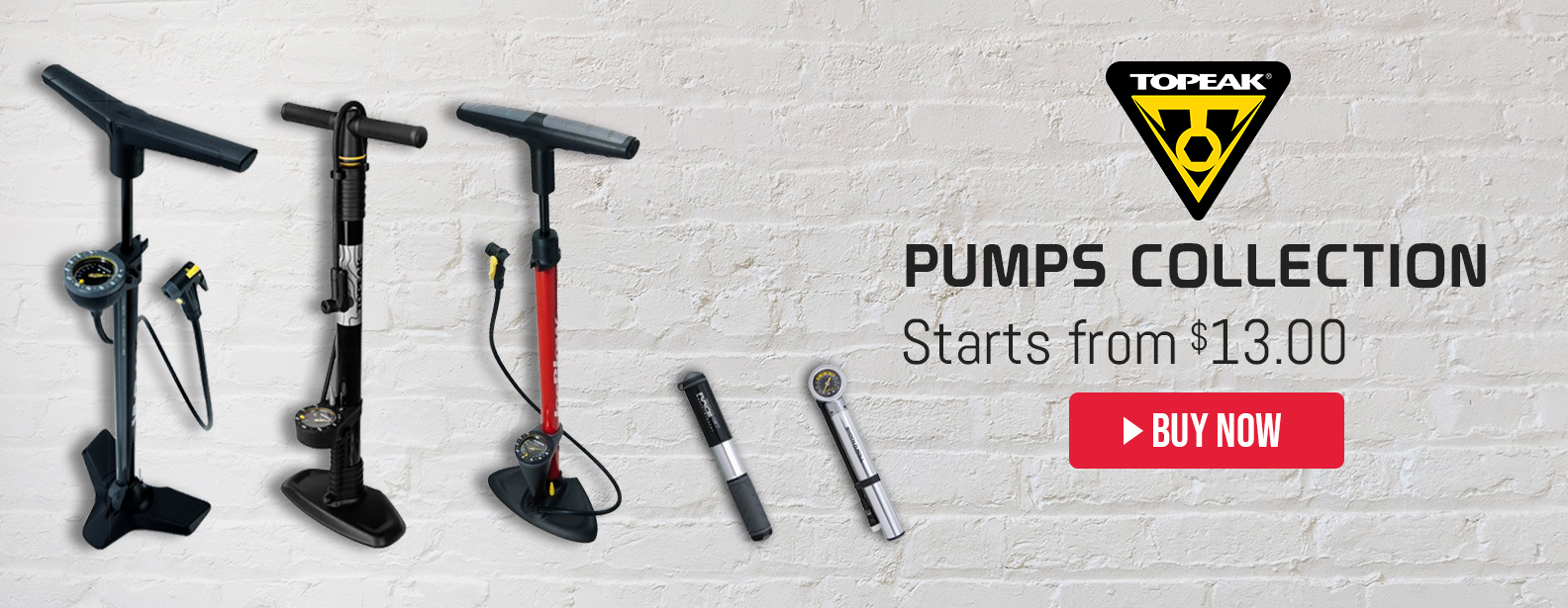 Topeak Pumps Collection