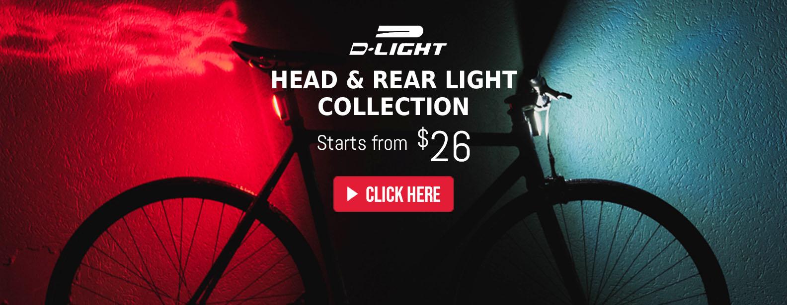D-Light Head & Tail Light Collecion
