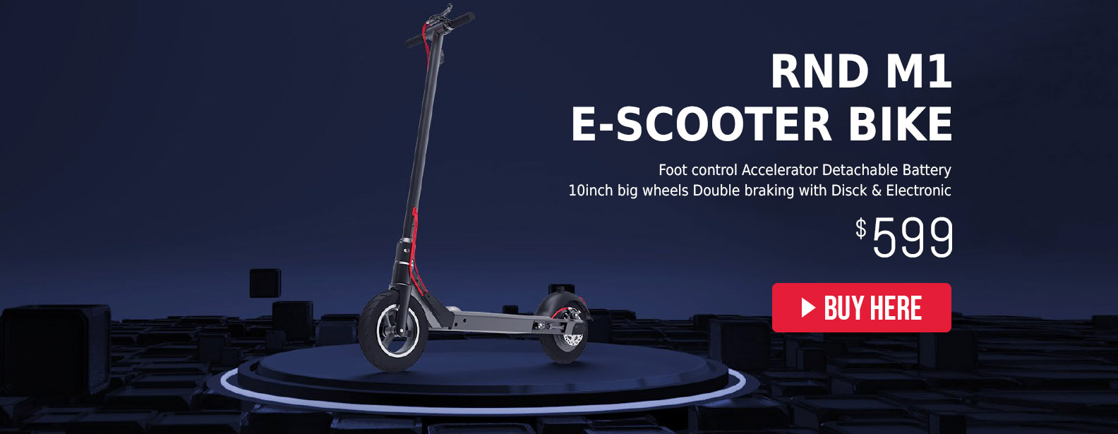 RND M1 E-Scooter Bike