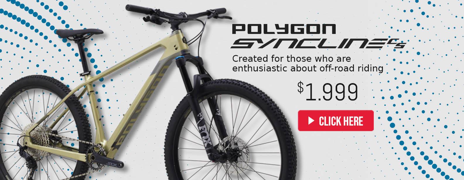 Polygon Syncline C5 Bikes
