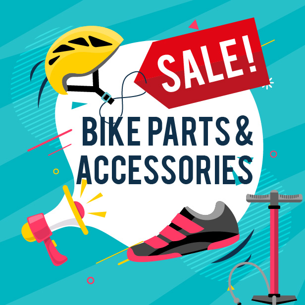 Bike Parts & Accessories Sale
