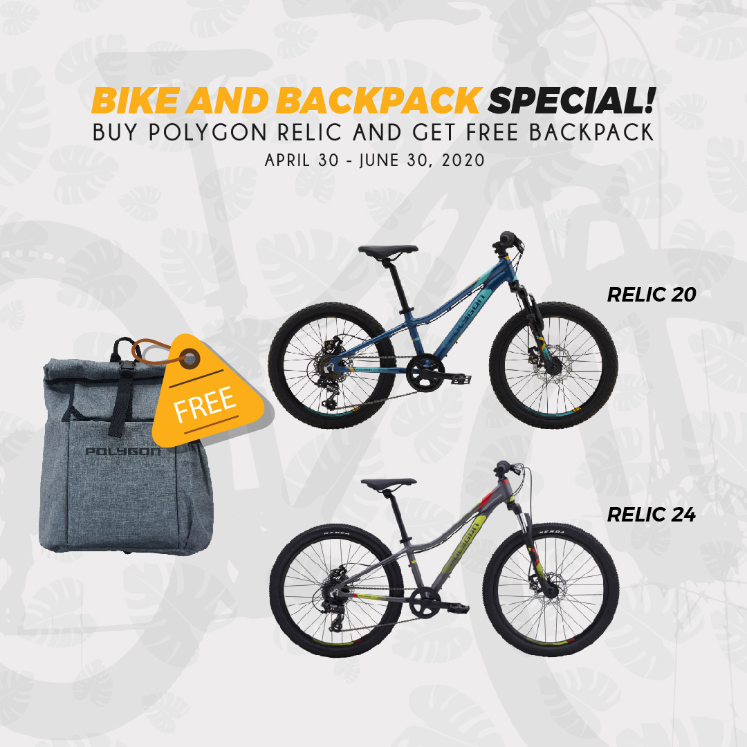 Bike And Backpack Special!