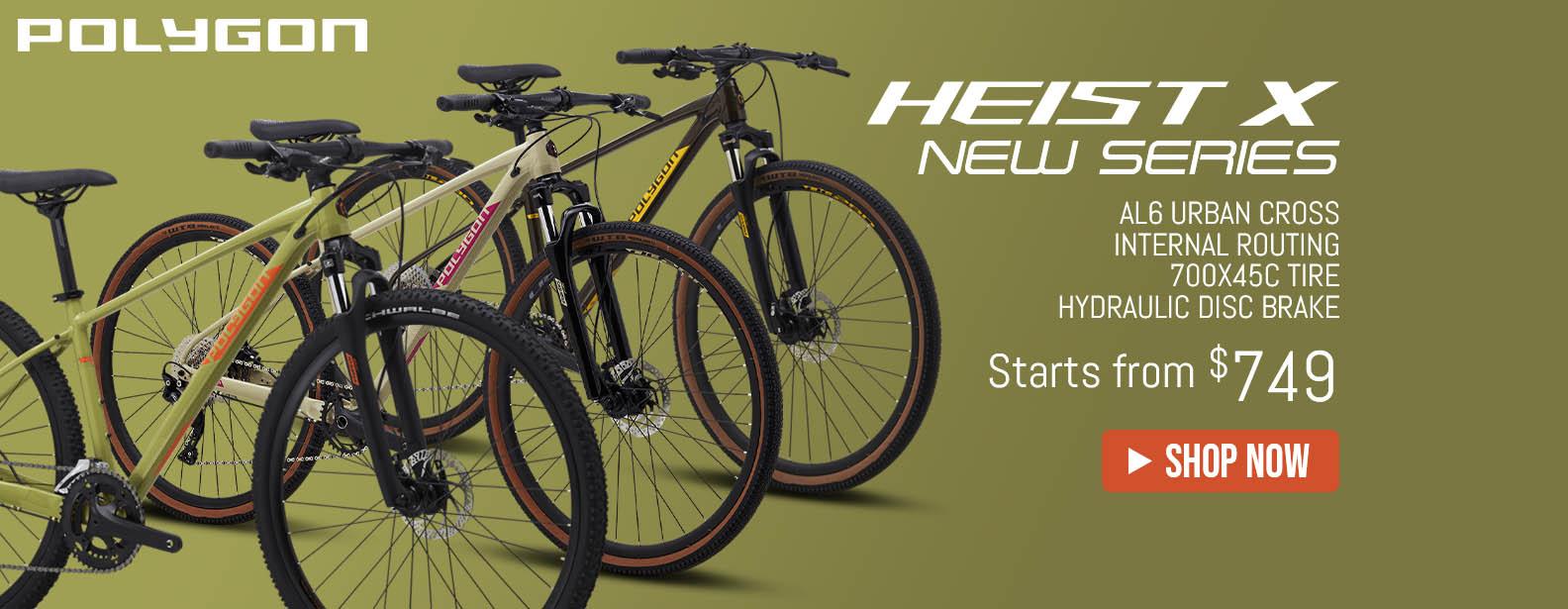 Polygon New Heist X Series