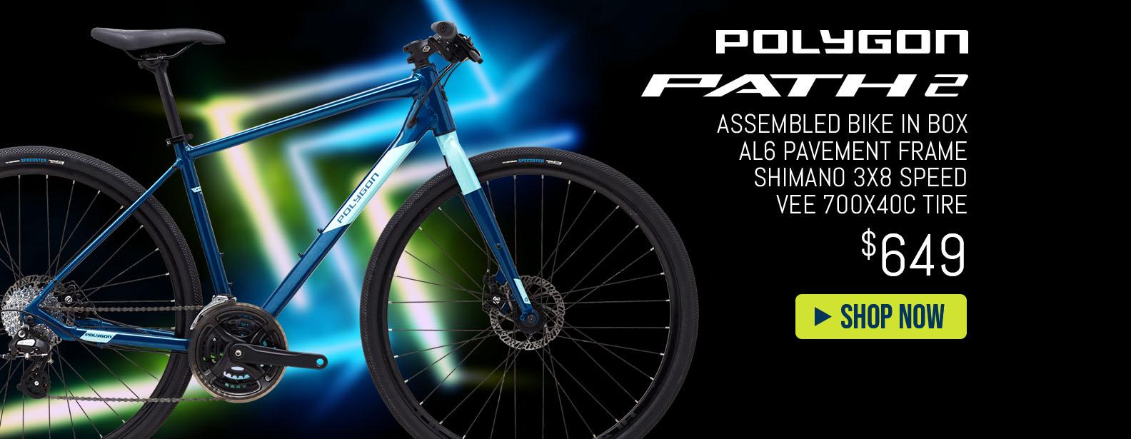 Polygon Path 2 City Bike Assembled
