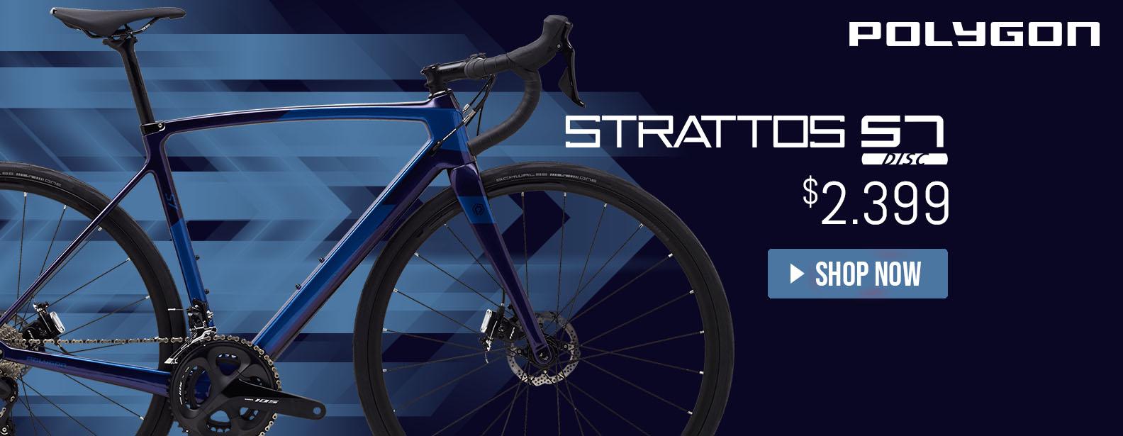 Polygon Strattos S7 Disc Road Bike