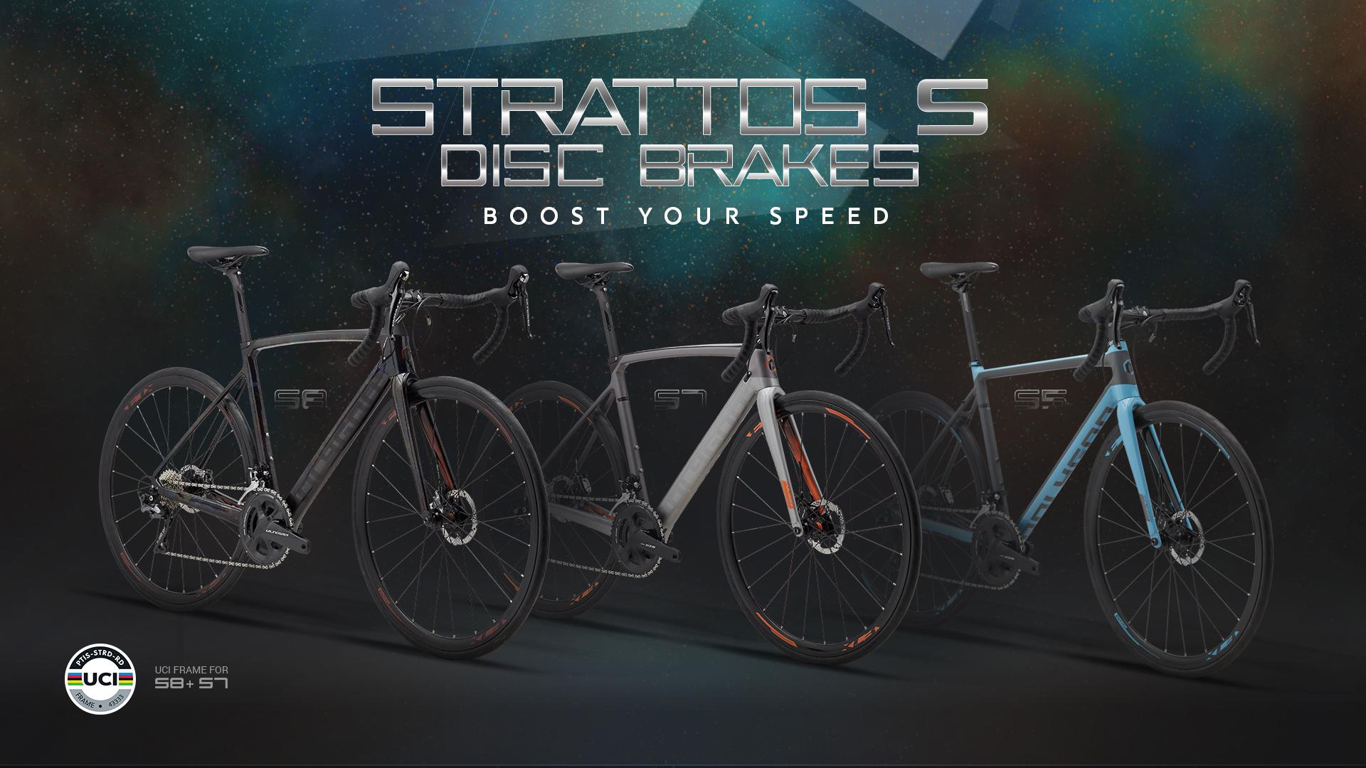 Strattos S Disc Brakes